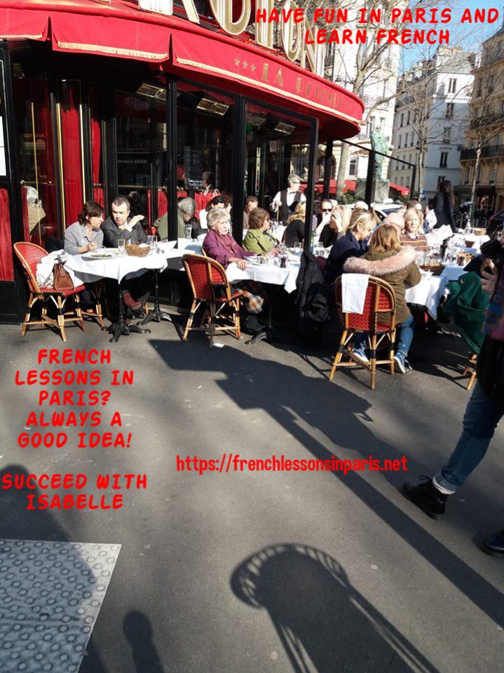 have fun in paris